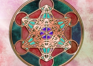 Metatron's Cube Jeweled